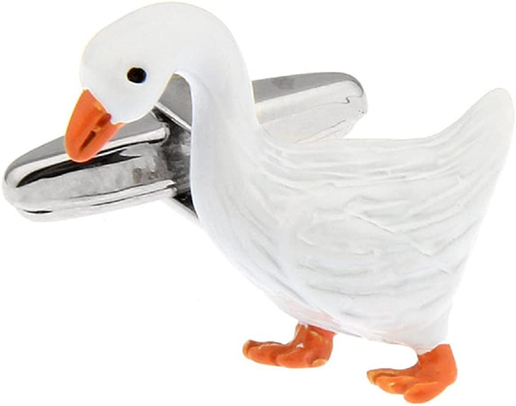 MRCUFF Duck Goose Pair Dealing full price reduction Cufflinks in Presentation a Gift Max 40% OFF Po Box