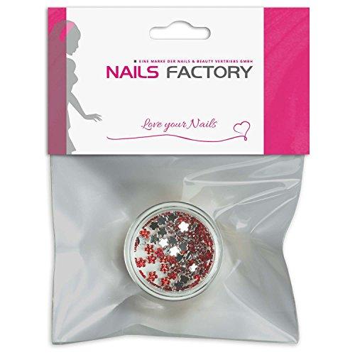 Strass Red fleurs de pierres de strass avec décoration en cristal Rhinestones Nail Art
