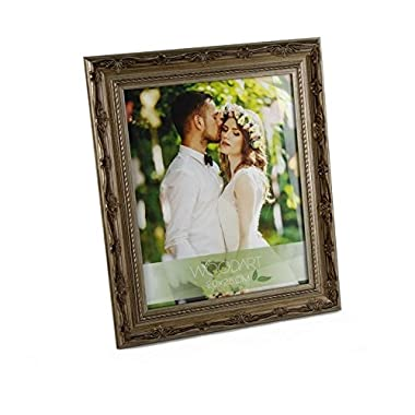 WoodArt Wooden Picture Frame (8x10 , Light Brown Craved)