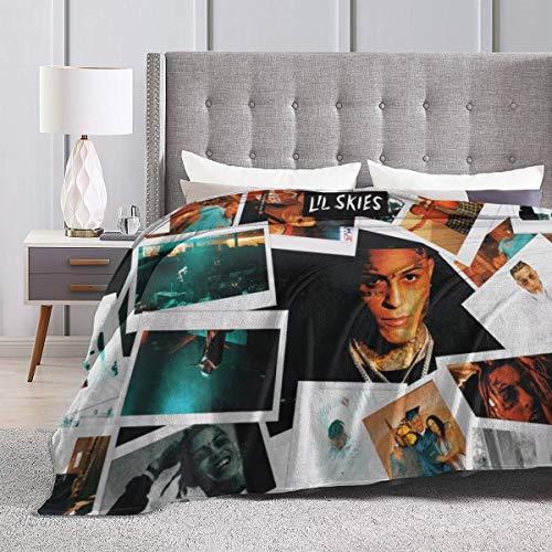 "Standard Price Lil Skies Throw Flannel Fleece Blanket Lightweight Super Soft Cozy Luxury Bed Blanket Microfiber 50""x40"""