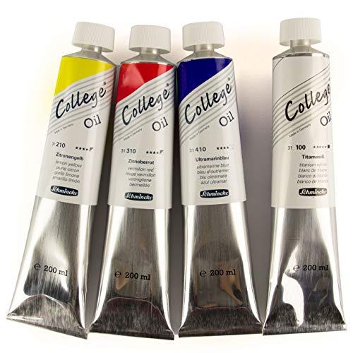 Schmincke College Oil - Grundfarben Set