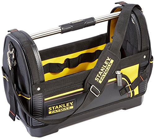 Stanley FatMax Werkzeugtrage (48x33x22cm, 600 Denier Nylon, wasserdichter Kunststoffboden,...
