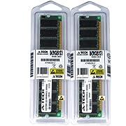 2GB kit (1GBx2) DDR PC3200 DESKTOP Memory Modules (184-pin DIMM, 400MHz) Genuine A-Tech Brand