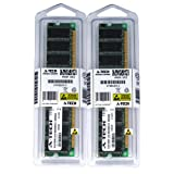 A-Tech 2GB KIT (2 x 1GB) for Biostar Motherboard NF500 754 NF61S Micro P4M800-M7 P4M800-M7A P4M800Pro-D1 P4M80-M4 P4M80-M7 P4TBA P4TGP 775 P4TGQ P4TGQ-M. DIMM DDR Non-ECC PC3200 400MHz RAM Memory
