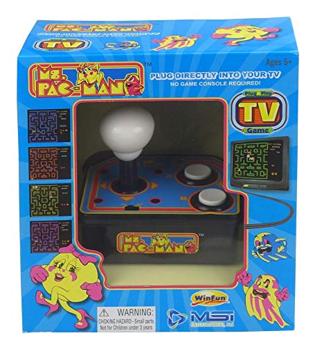 Ms Pac-Man Classic Plug and Play Arcade Game (Electronic Games) [Edizione: Regno Unito]