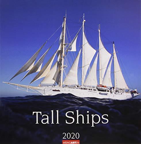 Tall Ships. Wandkalender 2020. Monatskalendarium. Spiralbindung. Format 46 x 48 cm