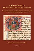 A Repertorium of Middle English Prose Sermons (Sermo: Studies on Patristic, Medieval, and Reformation Sermons and Preaching)