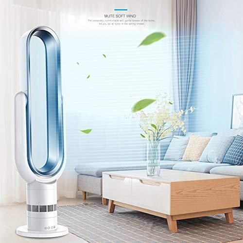 DX.JLY Ventilateur sans Lame Sécurité d'économie d'énergie Fonction de synchronisation Travail Silencieux Flux d'air...