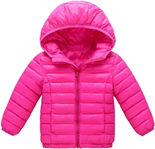 de4b64e0d Amazon.com  Pinks - Down   Down Alternative   Jackets   Coats ...