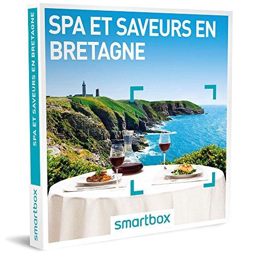 SMARTBOX - Coffret Cadeau homme femme couple - Spa & Saveurs en Bretagne - idée cadeau - 23 hôtels bretons : une nuit avec petit-déjeuner, dîner et accès au spa