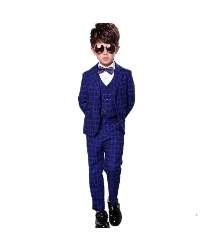 フォーマル スーツ 男の子 子供タキシード キッズ 3点セット