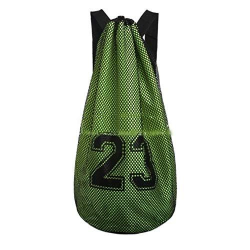 ALIXIN Nr. 23 Basketball Tasche Schultertasche Reisetasche Rucksack Gym Sack Sport Duffle, Taschen Schule Rucksack mit großer Tasche für Jugendliche Erwachsene