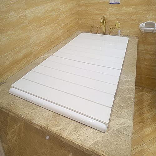 TYz Faltbare Staubabdeckung, Halterung für Badewannenabdeckung Badewanne Badewanne Badewanne Isolationsabdeckung Staubdichte Badewanne (Size : 180 * 80 * 0.6cm)