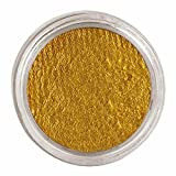Maquillaje agua color dorado de 15 gramos.