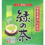 知覧工場 緑の茶ティーバッグ 箱タイプ(2g*40袋入)