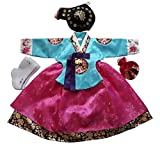 Hanbok Korean Traditional Hanboks Babies Girls Dress Costumes 1st Birthday DOLBOK Party Gift hg300/1