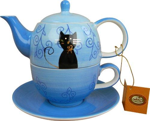 Cha Cult Tea-for-One Filou - juego de tetera y taza
