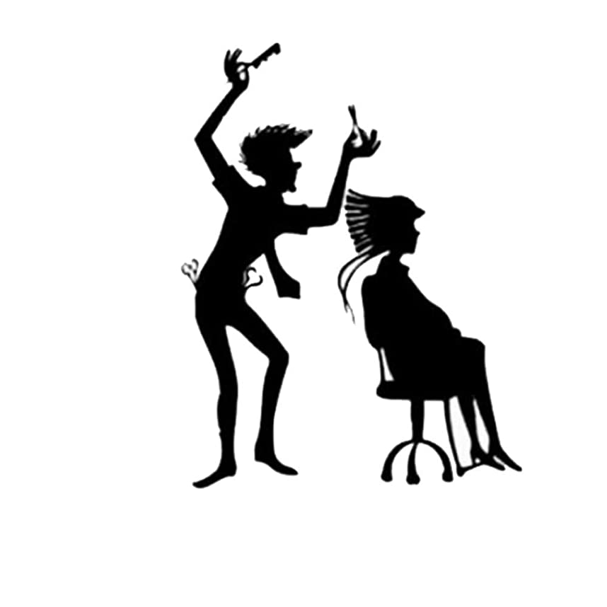 描写機会非アクティブNicircle ザバーバーショップパーソナリティザリビングルームベッドルームサンドウォールステッカー ウォールステッカー 壁紙 部屋飾り 剥がせる 2019 Fsahion Wall Stickers The Barber Shop Personalities The Living Room Bedroom Sand Wall Stickers