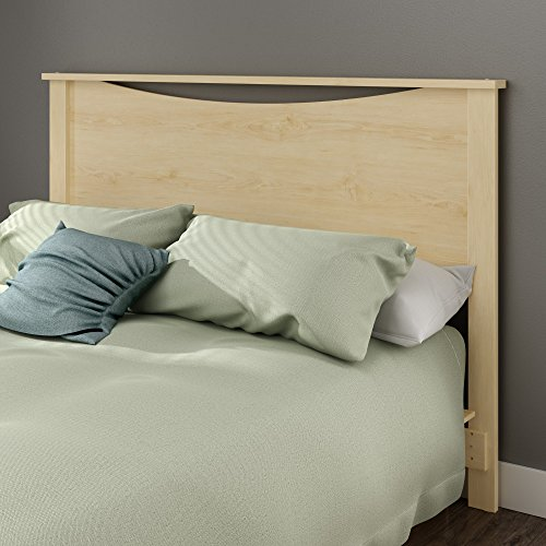 South Shore Step One Headboard, Full/Queen 54/60-Inch, Maple