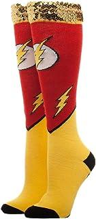 Calcetines Flash DC Comics lentejuelas