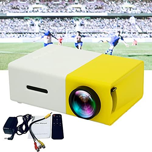 Proyector, resolución nativa de 1920 x 1080p y pantalla de 20 x 80 pulgadas, proyector portátil con zoom, compatible con ordenador, disco U, audio, consola de juegos, DVD, etc.
