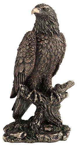 Figur Adler Weißkopfseeadler Adler Freiheitsstatue Adlerfigur auf Ast Adlerfigur