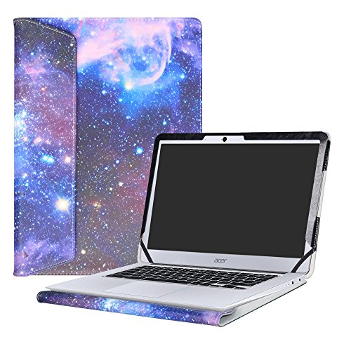 Alapmk Protective Case Cover For 14' Acer Chromebook 14 CB3-431 Series Laptop,Galaxy