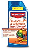 Bioadvanced 701520A Fruit, Citrus &Amp; Vegetable Insect Control For Edible Gardening Concentrate, 32-Ounce