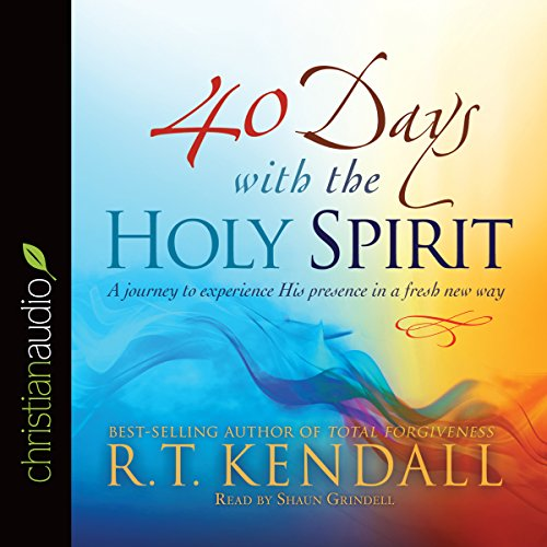 40 Days with the Holy Spirit audiobook cover art