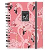 Legami Maxi Trio Spiral Notebook – Flamingo...