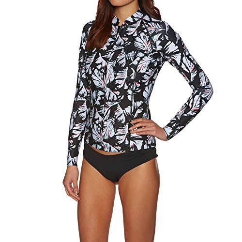 BILLABONG Womens Surf Capsule Peeky 1MM Neopren Neoprenanzug Mantel Jacke Mantel Black Sands - Easy Stretch Thermofutter