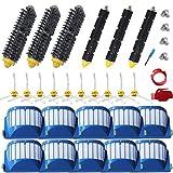 YOKYON 28pcs Accessories for iRobot Roomba 600 Series 595 614 620 630 645 650 655 660 680 690 Vaccum Cleaner Replenishment Parts Kit