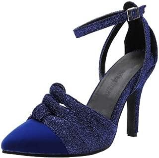 MisaKinsa Women High Heels Sandals Pointed Toe Shoes