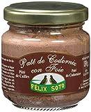 Félix Soto, Lata de patés (Codorniz con foie) - 4 de 130 gr. (Total 520 gr.)