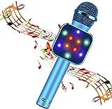 BlueFire Wireless Bluetooth Karaoke Microphone 5 in 1 Handheld Karaoke Microphone Portable Bluetooth