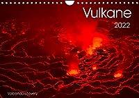 Vulkane 2022 (Wandkalender 2022 DIN A4 quer): Vulkane der Welt, Monatskalender, 14 Seiten (Monatskalender, 14 Seiten )