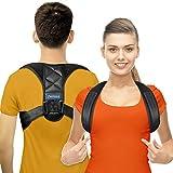 Posture corrector for men and women - effective for neck, back and shoulder