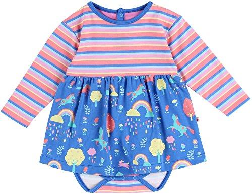 Piccalilly Robe de bébé en coton biologique Multicolore 3-6 mois