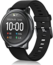 Haylou Smart Watch, Activity Tracker 1.28 Inch Touch Screen Smartwatch Heart Rate Monitor Sleep Monitor Pedometer Wrist Sense 5ATM Waterproof Durable Battery Life