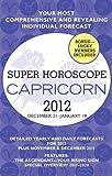 capricorn superhoroscope 2012