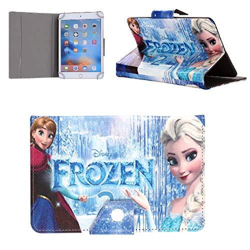 Funda para tablet Lenovo Tab E8 4 M8 de 8 pulgadas para niños Disney World Stitch Ariel Mermaid Avengers Case (Lenovo Tab M8 8 pulgadas, Elsa Anna In Arendelle)