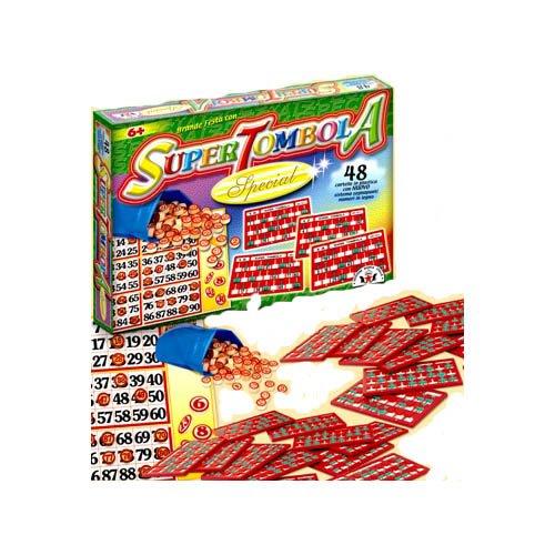Glooke Selected - Artti Grafique Rubber Tombola Special (48) Tischspiele, Mehrfarbig, 8000888000934