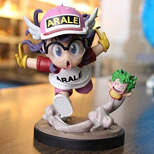 Hngyanp Figura de anime Dr. Slump Arale de 15 cm para decoración de figuras de animación, coleccionables, modelo de personaje, rosa, juguetes para niños (color: rosa)