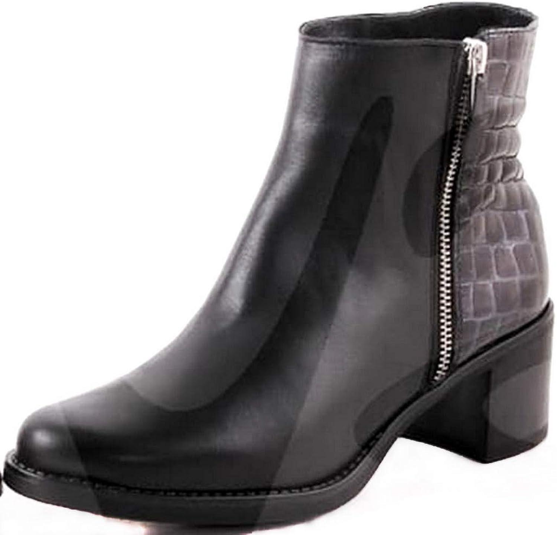 schuhe-estil ,  Damen Damen Damen Kurzschaft Stiefel  25fef0