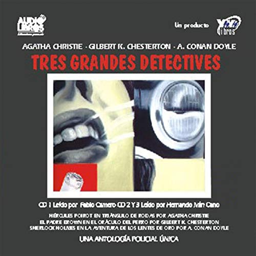 Los Tres Grandes Detectives [The Three Great Detectives]  By  cover art