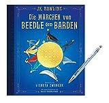 Los cuentos de hadas de Beedle el Barden (edición ilustrada en cuatro colores) + 1 bolígrafo de Harry Potter