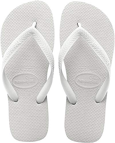 Havaianas Top, Chanclas Unisex Adulto, Blanco White