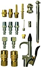 Milton (S-220) Air Compressor Accessory Starter Kit, (16-Piece)
