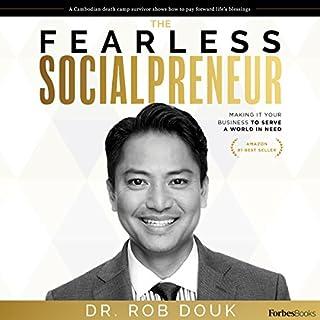 The Fearless Socialpreneur audiobook cover art