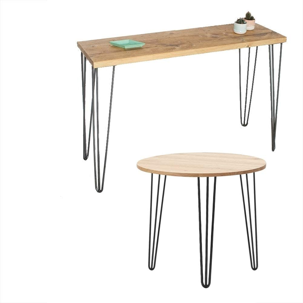 Gorgeous Metal Table Legs Raleigh Mall 28inch Hairpin Furniture 30inch Le